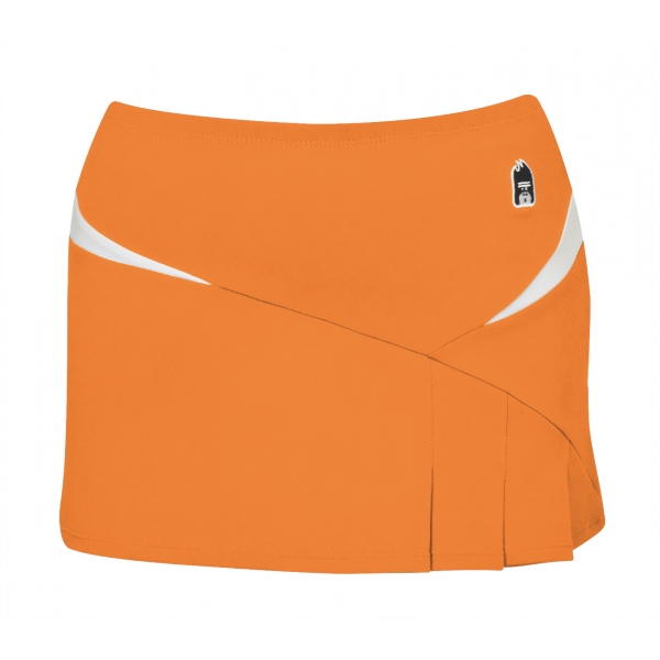 DUC Compete Women's Skirt w/ Power Tights (Orange)