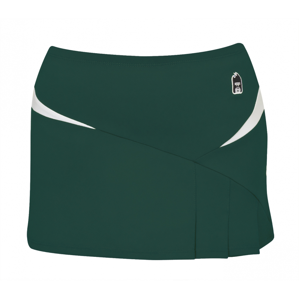 DUC Compete Women's Skirt w/ Power Tights (Pine)