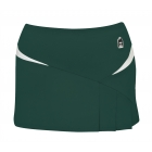 DUC Compete Women's Skirt w/ Power Tights (Pine) - DUC Women's Apparel Tennis Apparel