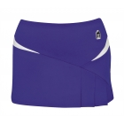 DUC Compete Women's Skirt w/ Power Tights (Purple) - Tennis Apparel