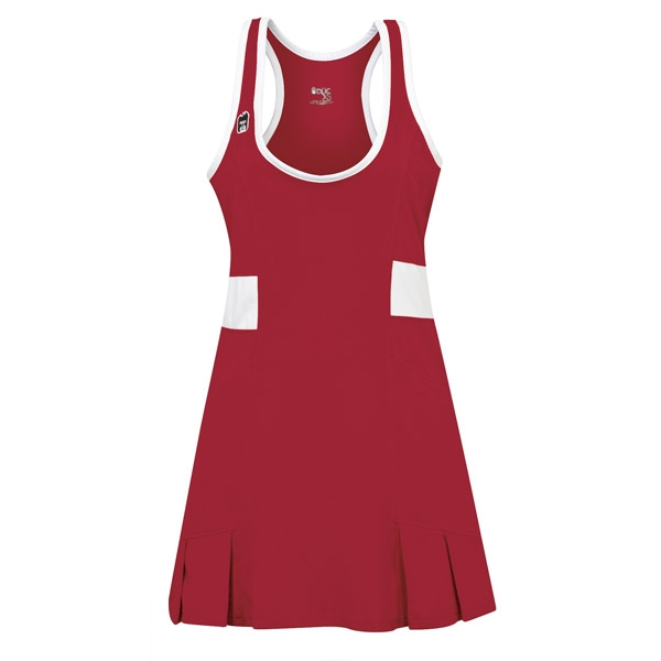 DUC Dominate Women's Tennis Dress (Cardinal)