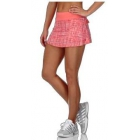 K-Swiss Women's Deuce Tennis Skirt (Raspberry Print/Sugar Coral) - Shop the Best Selection of Tennis Apparel