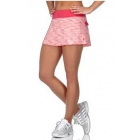 K-Swiss Women's Deuce Tennis Skirt (Raspberry Yarn Dye/Raspberry) - Shop the Best Selection of Tennis Apparel
