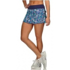 K-Swiss Women's Deuce Tennis Skirt (Print Blue/Blue Ribbon) - Shop the Best Selection of Tennis Apparel