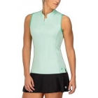 K-Swiss Women's Advantage Tennis Tank Top (Brook Green) - Women's Tank Tops
