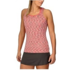 K-Swiss Women's Eternity Tennis Tank (Space Dye Coral/Flamingo Pink) - Women's Tank Tops