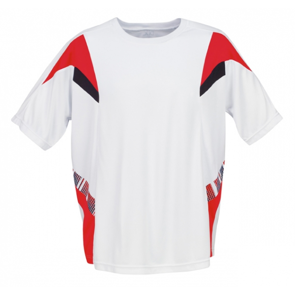 DUC Demand Men's Tennis Crew (Red)