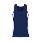 DUC Force Women's Racer-Back Tank (Navy) - Tennis Apparel Brands