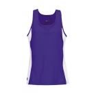 DUC Force Women's Racer-Back Tank (Purple) - Women's Tennis Apparel
