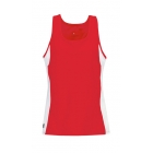 DUC Force Women's Racer-Back Tank (Red) - Women's Tennis Apparel