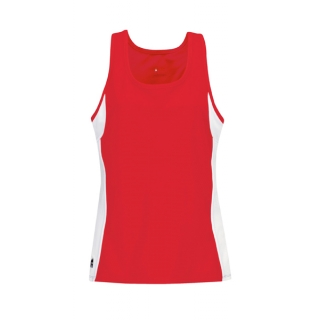 DUC Force Women's Racer-Back Tank (Red)