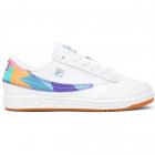 Fila Men's Tennis 88 '90s Tennis Shoes (White/Electric Purple/Gum) -