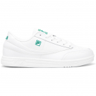 Fila Men's Tennis 88 Tennis Shoes (White/White/Pepper Green) -