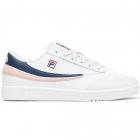 Fila Men's Tennis 88 Tennis Shoes (White/Navy/Seashell Pink) -