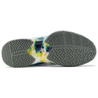1TM01387-769 Fila Men's Axilus 2 Energized Tennis Shoes (Multi/White/Agave Green)