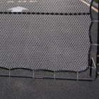 Replacement Netting for Courtmaster Deluxe Rebound Net - Shop the Best Selection of Tennis Rebound Practice Nets