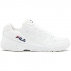 Fila Men's Double Bounce Pickleball Court Shoes (WHT/FNVY/FRED) - Fila Tennis Shoes