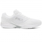 Fila Men's Volley Zone Pickleball Court Shoes (WHT/MSIL/WHT) - Fila Tennis Shoes