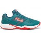 Fila Men's Axilus 2 Energized Tennis Shoes (Pacific/White/Fila Red) - Tennis Shoe Brands