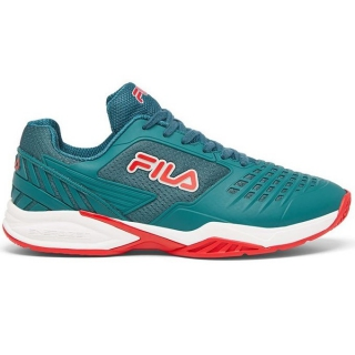 Fila Men's Axilus 2 Energized Tennis Shoes (Pacific/White/Fila Red)