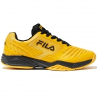 Fila Men's Axilus 2 Energized Tennis Shoes (Gold Fusion/Black) - New Tennis Shoes
