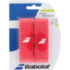 Babolat Jumbo Wristband (Red) - Tennis Apparel Brands