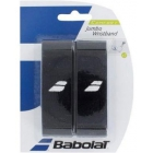Babolat Jumbo Wristband (Black) - Tennis Apparel Brands