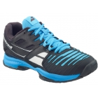 Babolat Men's SFX 2 All Court Tennis Shoes (Black/Blue) - Men's Tennis Shoes