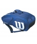 Wilson Team II Navy 12 Pack Tennis Bag (Navy/White) - Team Collection
