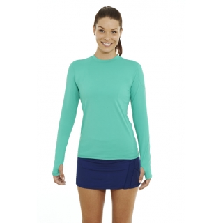 Bloq-UV 24/7 Long Sleeve Top (Green)