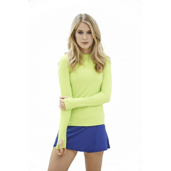 Bloq-UV 24/7 Long Sleeve Top (Key Lime)
