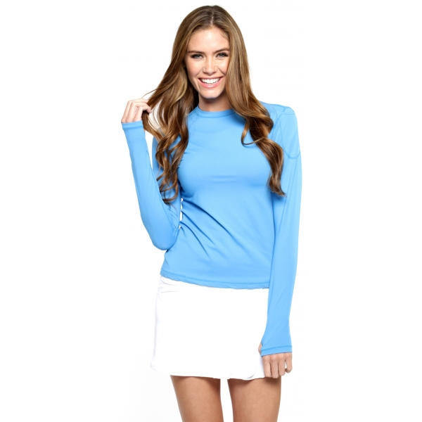 Bloq-UV 24/7 Long Sleeve Top (Ocean Blue)