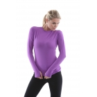 Bloq-UV 24/7 Long Sleeve Top (Purple) - Women's Tops Long-Sleeve Shirts Tennis Apparel