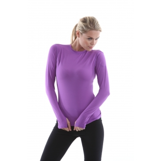 Bloq-UV 24/7 Long Sleeve Top (Purple)