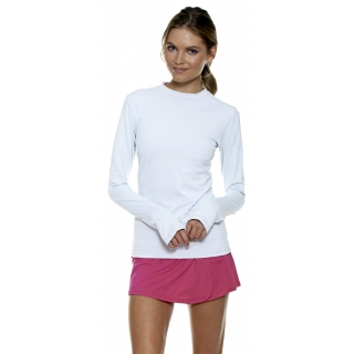 Bloq-UV 24/7 Long Sleeve Top (White)