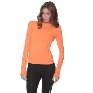 Bloq-UV 24/7 Long Sleeve Top (Tangerine)