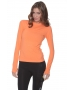 Bloq-UV 24/7 Long Sleeve Top (Tangerine) - Bloq-UV Women's Long-Sleeve Shirts