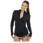 Bloq-UV Women's Cover Up (Black) - Women's Tennis Apparel