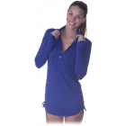 Bloq-UV Women's Cover Up (Navy) - Tennis Apparel