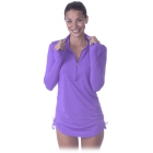 Bloq-UV Women's Cover Up (Purple) - Women's Outerwear