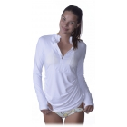 Bloq-UV Women's Cover Up (White) - Tennis Apparel