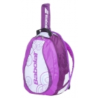 Babolat Backpack Girl (White/Purple) - Babolat Youth Tennis Bags
