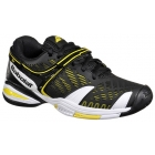 Babolat Propulse 4 Junior Tennis Shoe (Black/ Yellow) - Babolat Junior Tennis Shoes