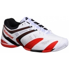 Babolat Men's V-Pro 2 All Court Tennis Shoes (White/ Red) - Babolat Tennis Shoes