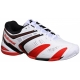 Babolat Men's V-Pro 2 All Court Tennis Shoes (White/ Red) - Lightweight Tennis Shoes