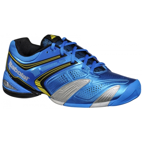 Babolat Men's V-Pro 2 All Court Tennis Shoes (Blue/ Yellow)