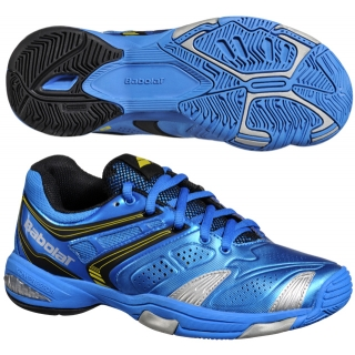 Babolat V-Pro 2 Junior Tennis Shoes (Blue/ Yellow)