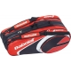 Babolat Club Line Racquet Holder x12 (Red) - Babolat Tennis Bags