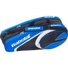 Babolat Club Line Racquet Holder x6 (Blue) - Babolat Club Tennis Bags