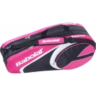 Babolat Club Line Racquet Holder x6 (Pink) - Tennis Bags on Sale